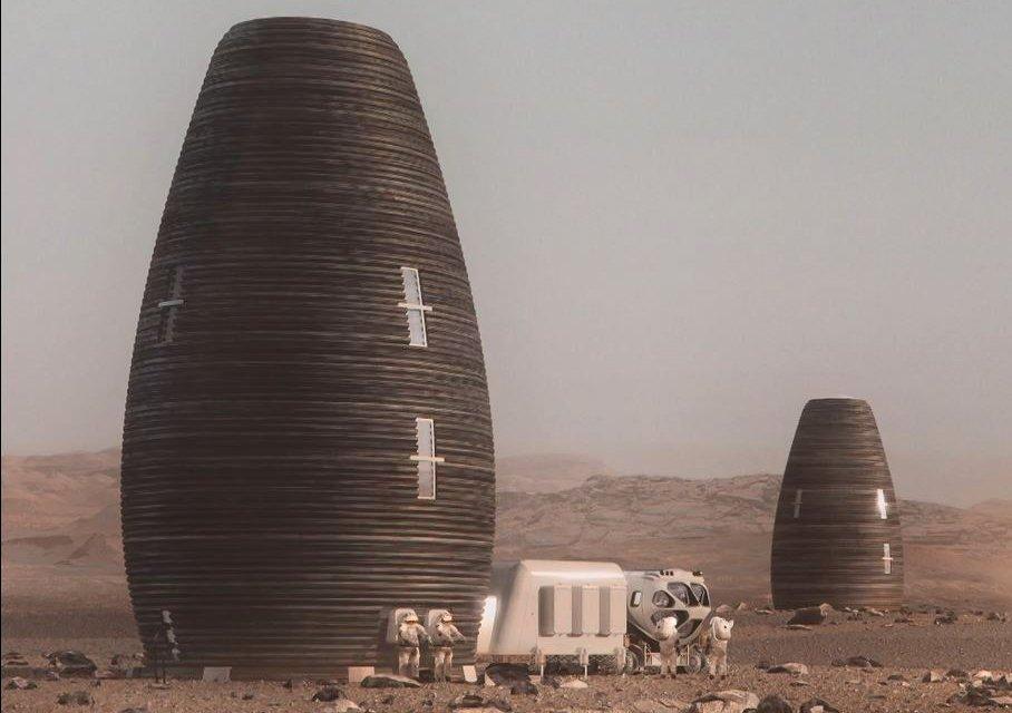 prime case su Marte