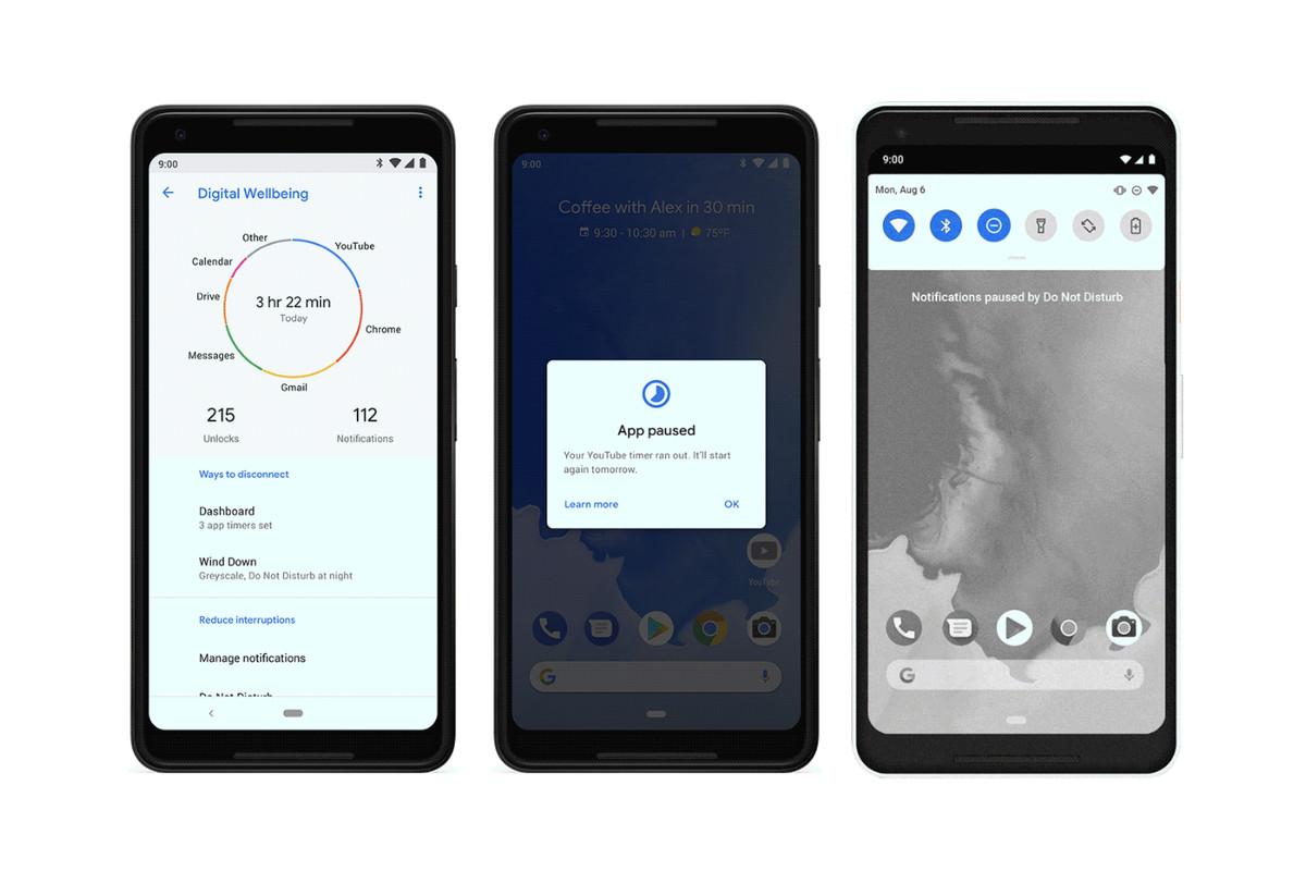 Android Digital Wellbeing contro la dipendenza da smartphone